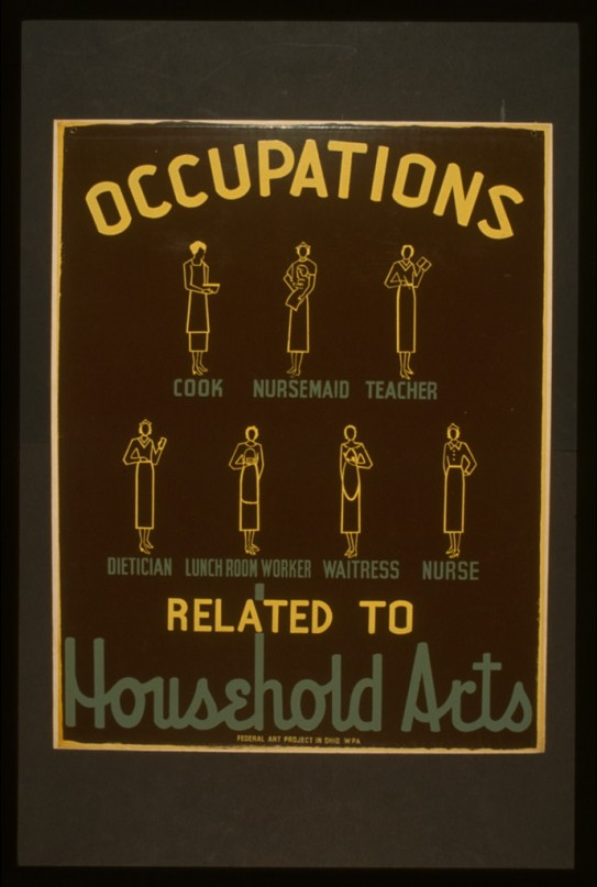 occupations related to household arts